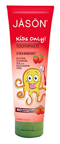 JASON Kids Only, Strawberry Toothpaste, 4.2 Ounce