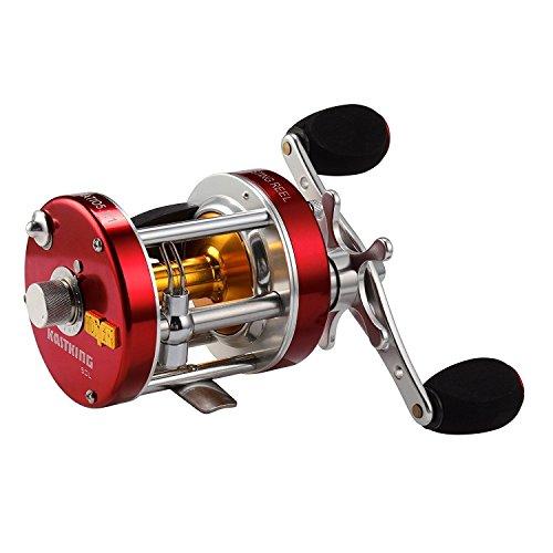 KastKing Rover Round Baitcasting Reel, Left Handed Fishing Reel,Rover40 (Best Fishing Rod And Reel Combo For The Money 2019)