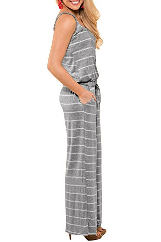 67170ee22925 For G and PL Women Halter Sleeveless Long Pant Jumpsuit Rompers ...