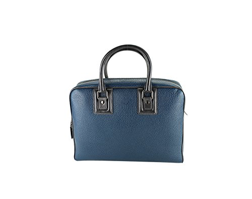 dolce-gabbana-briefcase-attache-solid-green-leather