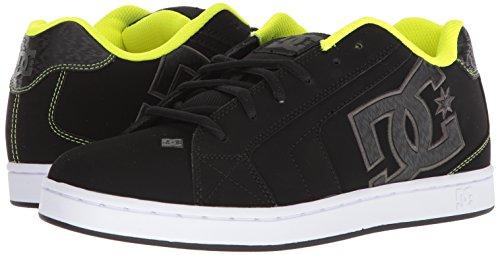 Low Shoes Shoes DC Lime Men's Green Net Black Top GL1 Sneaker d1tFqF
