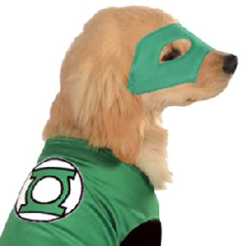 Image of DC Comics Pet Costume, Small, Green Lantern