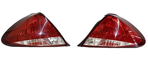 2004 - 2007 Ford Taurus (4 Door Sedan Only) Taillight Taillamp Pair Set Both Driver and Passenger NEW 5F1Z13405A 5F1Z13404A FO2800184 FO2801184