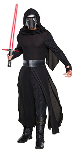 Star Wars: The Force Awakens Deluxe Adult Kylo Ren Costume,Multi,X-Large