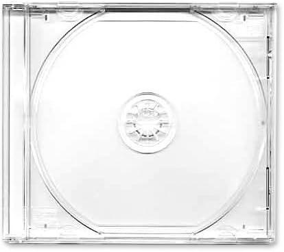 Carátula CD Fundas Dobles Transparente Bandeja-negro Mark 50 ...