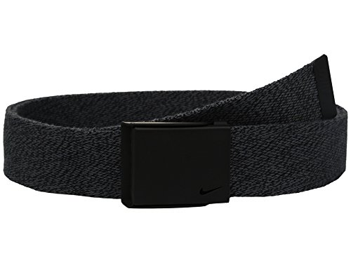 Nike Men's Heather Web Belt, dark grey, One Size from Nike