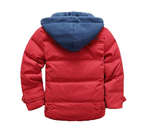 21f58198a Valentina Kids Winter Latest Thicken Hooded Jacket Warm Quilted Coat ...