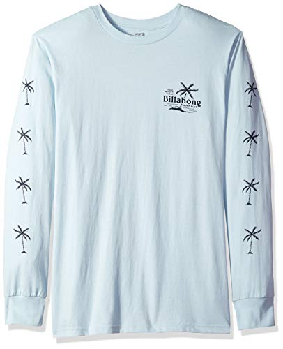 Billabong Men's Surf Club Long Sleeve T-Shirt Coastal Blue Small