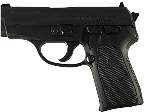 Hogue Sig P239 Grips (Checkered G-10), Solid Black