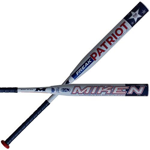 Miken-Freak-Patriot-14-Balanced-USSSA-Two-Piece-Slowpitch-Softball-Bat