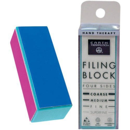 Pumice Filing Block Earth Therapeutics 1 - Sided 4 Block File