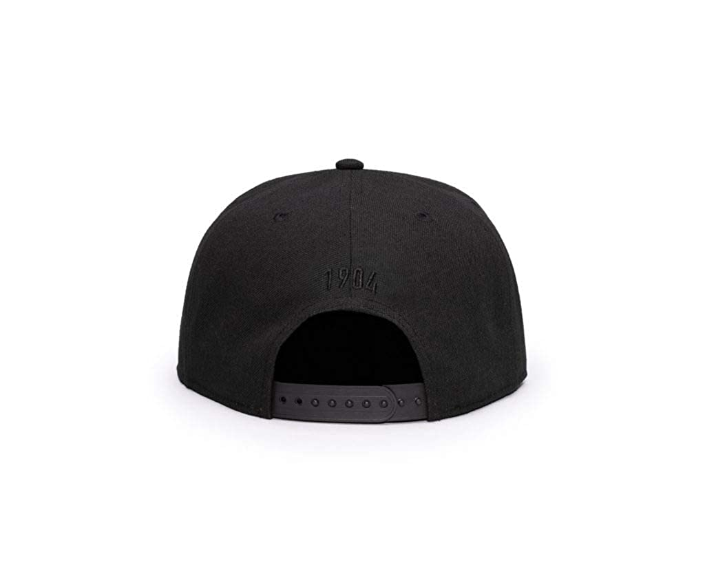 Black Flat Peak Snapback Fi Collection Benfica
