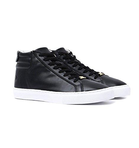 Leather True Black top Religion Hi Trainers 14BZgA