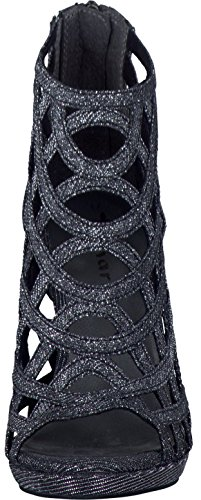 38 Mode Femme Tamaris 28388 1 Sandales Noir wZARRq