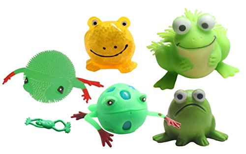 Frog Toy Bundle - Sensory Fidget and Stress Balls - OT Autism SPD