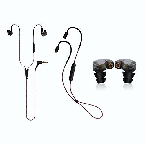 Wireless Bluetooth Earbud Wired Headphones - Datechip Lightw