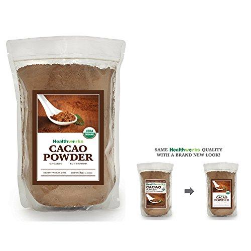 Healthworks Cacao Powder Raw Organic, 3lb