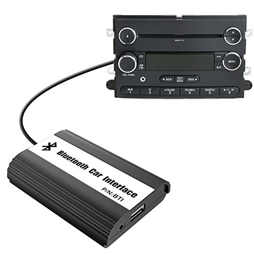 APPS2Car Car Stereo Bluetooth Adapter Wireless Music Receiver AUX USB Interface for Ford Edge Explorer F150 F250 F350 F550 Focus Freestyle Fusion Mustang Sport, Lincoln MKX Navigator, Mercury Milan -  Wiiki-tech International, BTI-FD