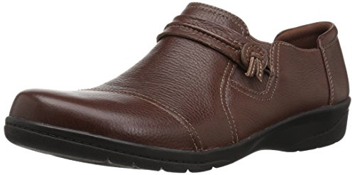 (CLARKS Women's Cheyn Madi Loafer, tan Tumbled Leather, 090 M)