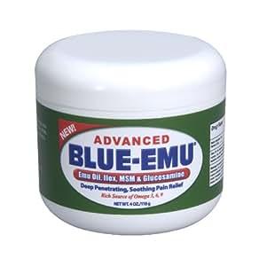 BLUE-EMU Advanced Sports Rub Analgesic Cream - 4 Oz Jar