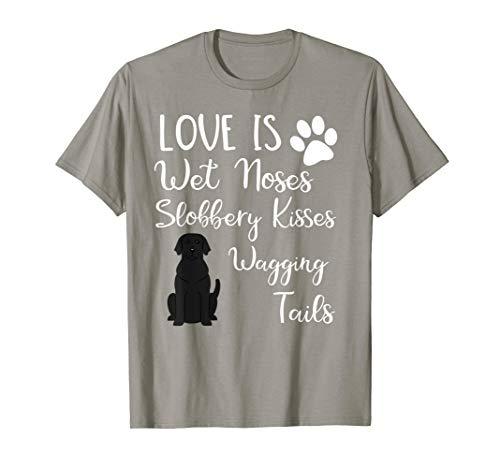 Black Labrador Retriever Love My Dog Saying Quotes