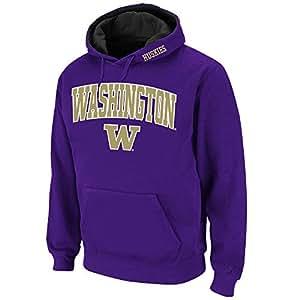 Mens NCAA Washington Huskies Pull-over Hoodie (Team Color) - 3XL