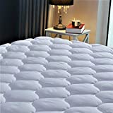 Waterproof Mattress Protector - Quilted Fitted Cooling Mattress Pad | Mattress Cover Breathable, Waterproof, Hypoallergenic - Mattress Topper (Twin Size)