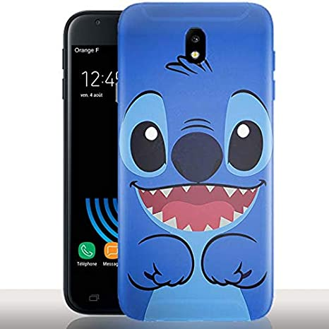 Coque Samsung J6 Plus 2018 Stitch / Fun / Housse Gel Silicone