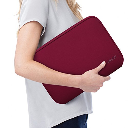 Arvok 13-14 Inch Laptop Sleeve Multi-Color & Size Choices Case/Water-Resistant Neoprene Notebook Com - http://coolthings.us