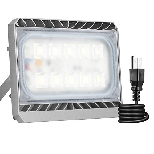 50W LED Flood Light, STASUN LED Security Lights Outdoor, 4500lm, 6000K Daylight, Waterproof, Built with Cree LED Chips, Great for Back Yard, Garden, Garage Review