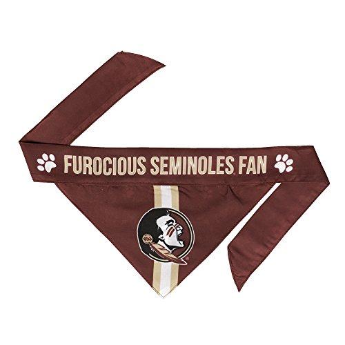 NCAA Florida State Seminoles Pet Bandanna, Medium - Florida State Seminoles Dog