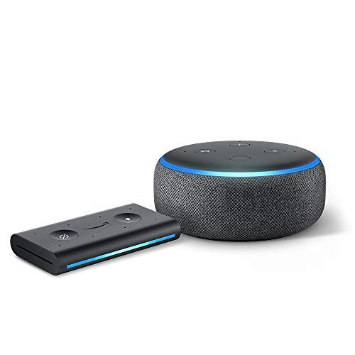 Echo Dot (3rd Gen) Charcoal with Echo Auto