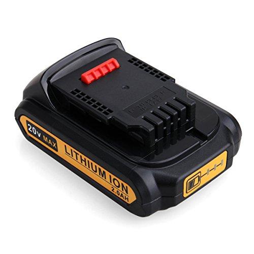 DeWalt DCB200 Ersatzakku, FLAGPOWER Werkzeug Batterie für DeWalt XR Li-ion DCB182 DCB180 DCB181 DCB182 DCB201 20V Akku (2000mAh)