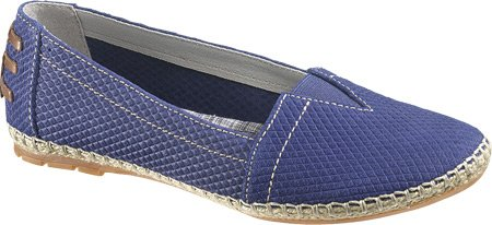Hush Puppies Frauen COPPELIA A-LINE Loafers Navy Embossed Suede