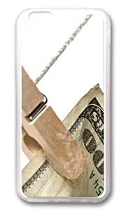 MOKSHOP Adorable Folder dollars Soft Case Protective Shell Cell Phone Cover For Apple Iphone 6 (4.7 Inch) - TPU Transparent