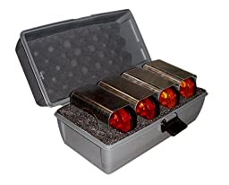 FoxFire 6005252 4 Piece Light with Safety Cone Brackets in Kit, Red