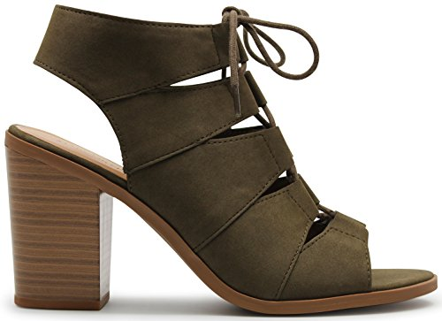 MARCOREPUBLIC Republic Gladiator Stacked Sandals