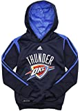 Oklahoma City Thunder NBA Big Boys On Court Hoodie - Navy Blue