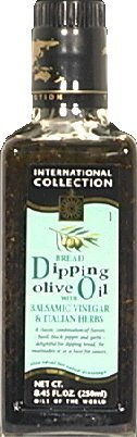 International Collection Oil Olive DIpping Vinegar & Herbs, 8.45-ounce Bottles (Pack of 6) (Olive International)