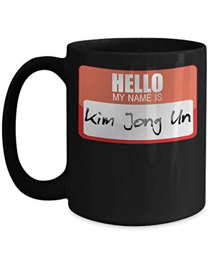My Name Is Kim Jong Un Rocketman Halloween Costume North Korean Dictator anit-Trump Donald Political President Trick or Treat Gift Mug | Simple Hallo