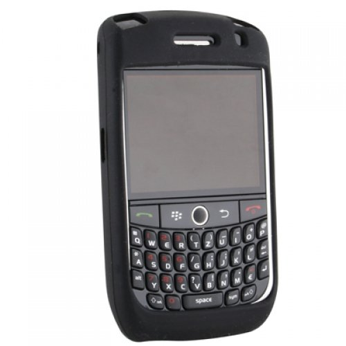 (Wireless Xcessories Silicone Sleeve for BlackBerry 8900 Javelin - Black)