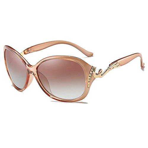 CHB Women's Diamond Oversized Polarized Wayfarer Sunglasses UV400 - Wayfarer Dimensions New