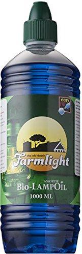 Olio di paraffina flamax paraffina 12 litri Farm light colore blu Sel-Chemie