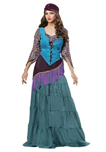 Fabulous Fortune Teller Gypsy Womens Plus Size Costume 3X