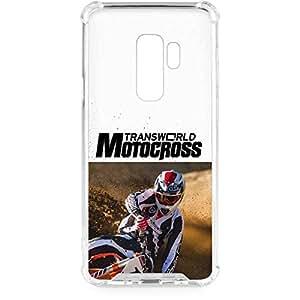 amazon com motocross galaxy s9 plus case transworld motocross