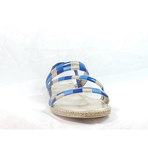 Lotus , Damen Sandalen blau blau