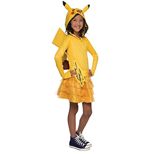 Rubie's Pokémon Pikachu Child Hooded Costume Dress, Small -