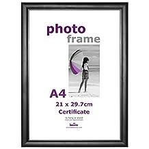 Innova Editions, Classic Certificate, Picture/Photo frame, 21x29.7cm/A4, Black