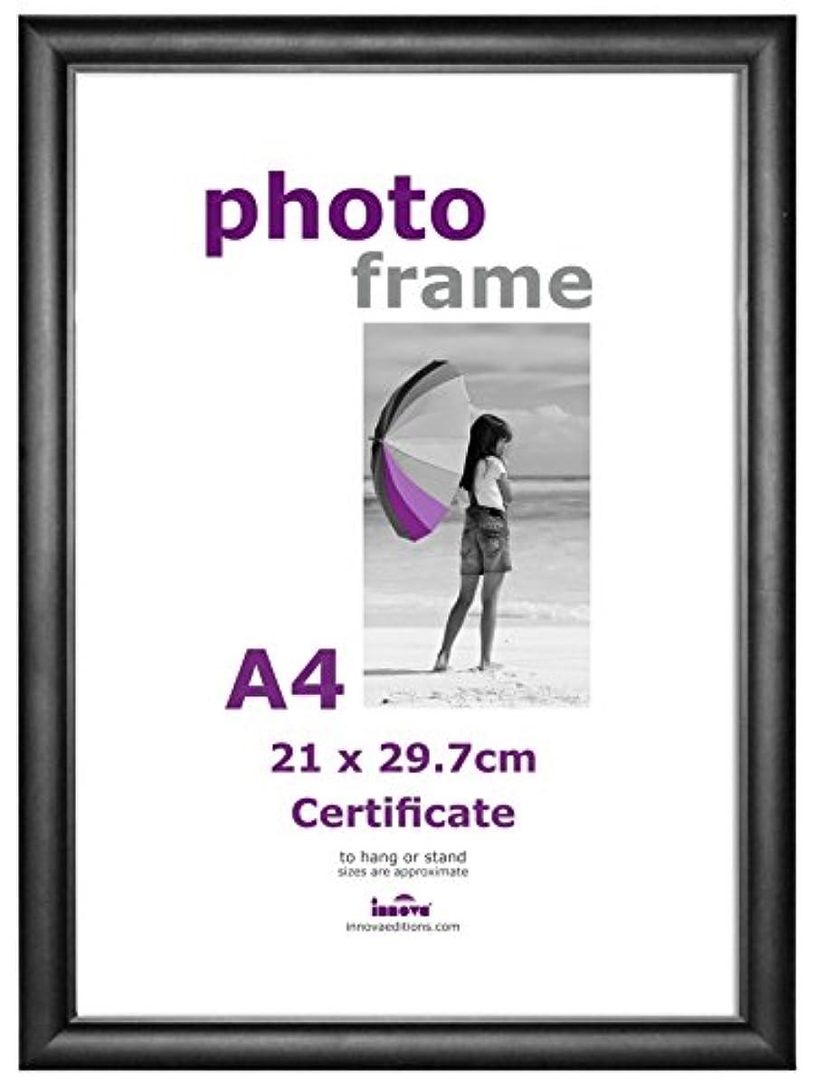 innova pi04220 cadre photo pour certificat format a4 noir. Black Bedroom Furniture Sets. Home Design Ideas