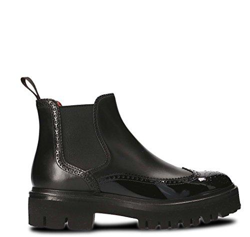 Santoni Women's WTVR56806SQ4LLYN01 Black Leather Ankle Boots ik03AEqmVu